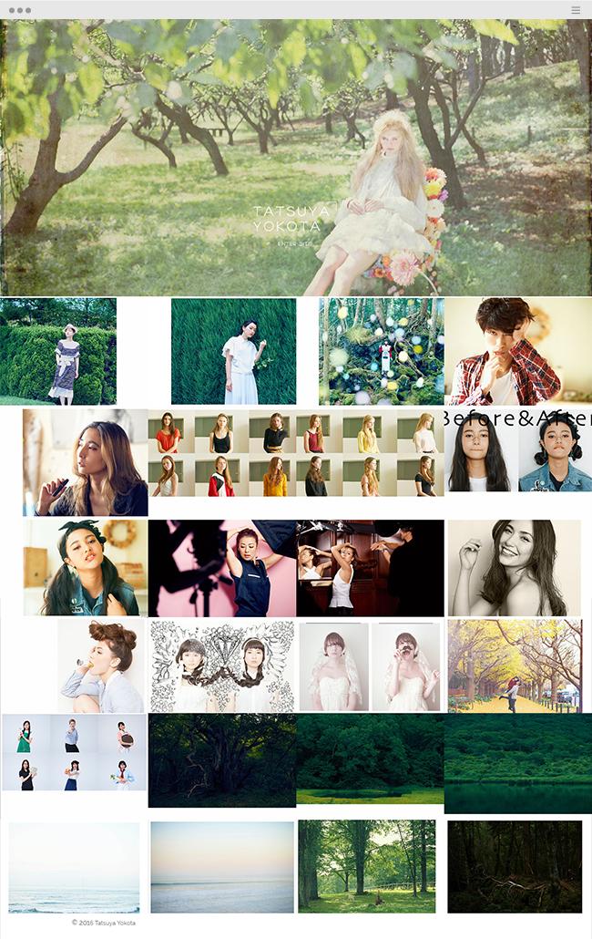 ポートフォリオサイト, Tatsuya Yokota