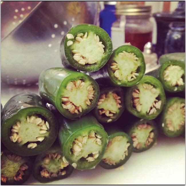 Instagramで撮った食材のクロースアップ写真はとても様になる