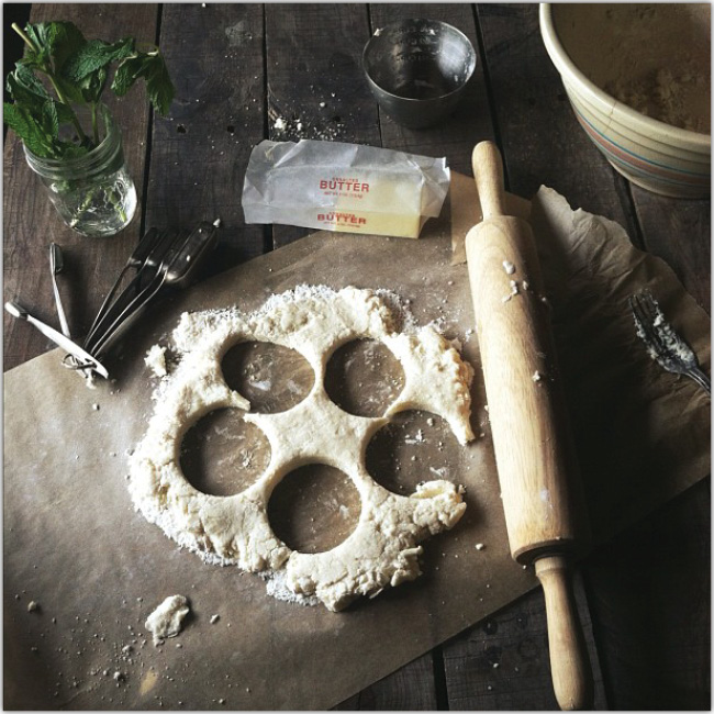 完成した料理だけではなく料理の工程もInstagramのシャッターチャンス