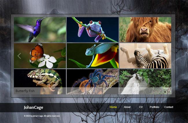 Wixホームページエディタで作成されたサイトにグリッドアニメーションギャラリーが追加されました