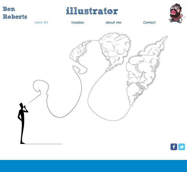 Wixホームページビルダーで作成されたイラスト使いが上手いHTML5サイト