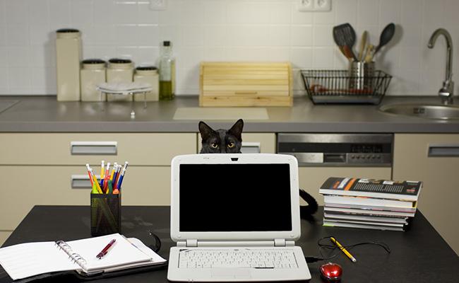 仕事専用の空間を作る