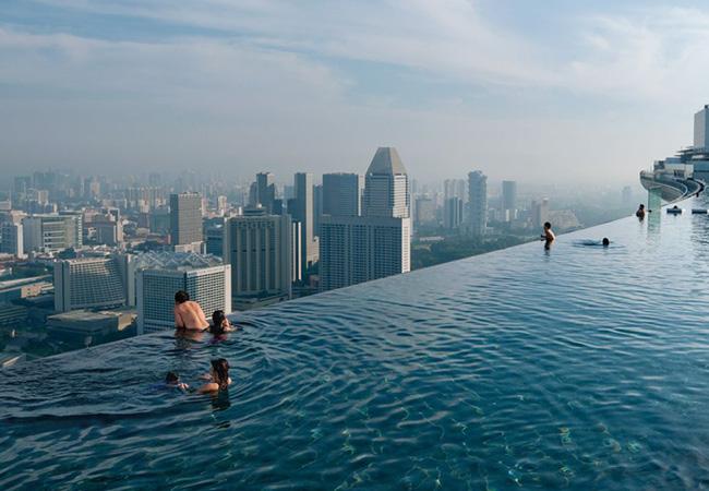 シンガポールの絶景プール