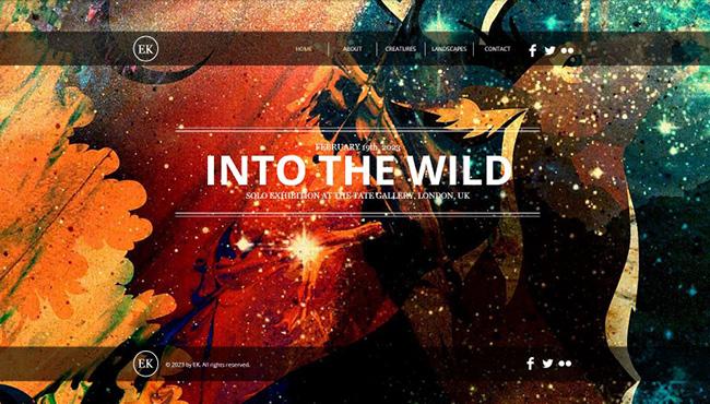 Wixで一番人気のホームページテンプレート