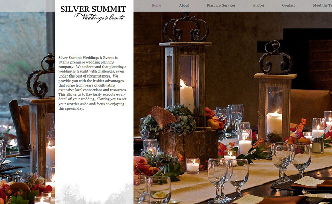 Silver SummitのWixサイト