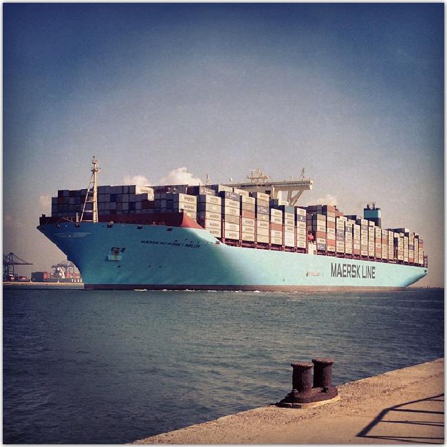 MaerskのInstagram写真
