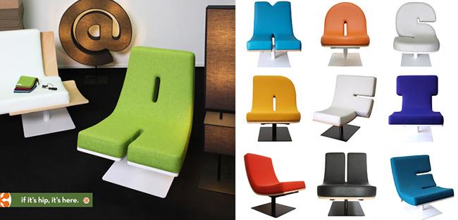 タイポグラフィーな家具