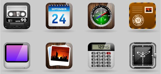 アプリのアイコンデザイン