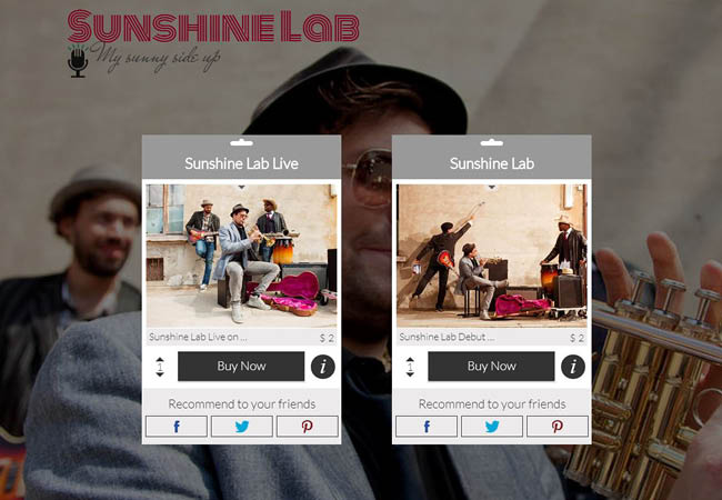 All-In-One-Store アプリを追加して曲を販売しよう