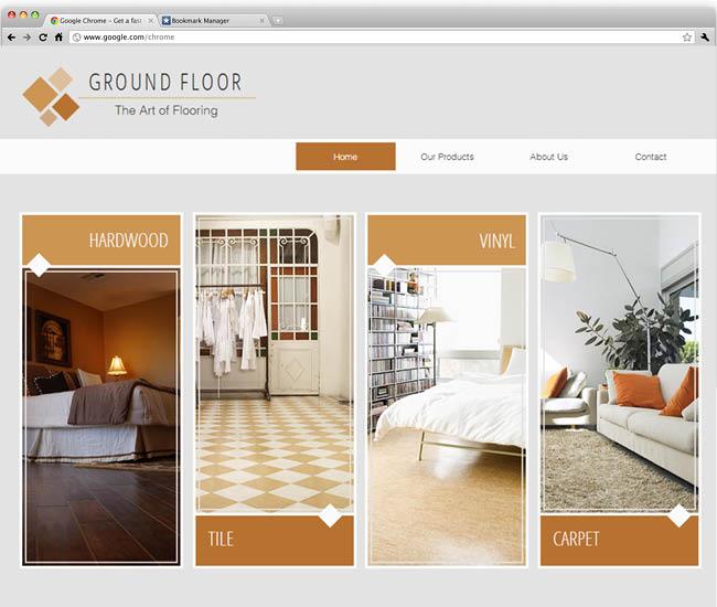 テンプレート「Flooring Company 」