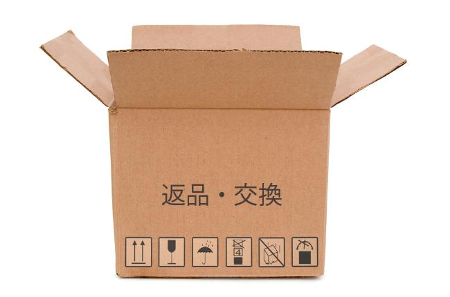 返品・交換ができる商品と、それができないサービス