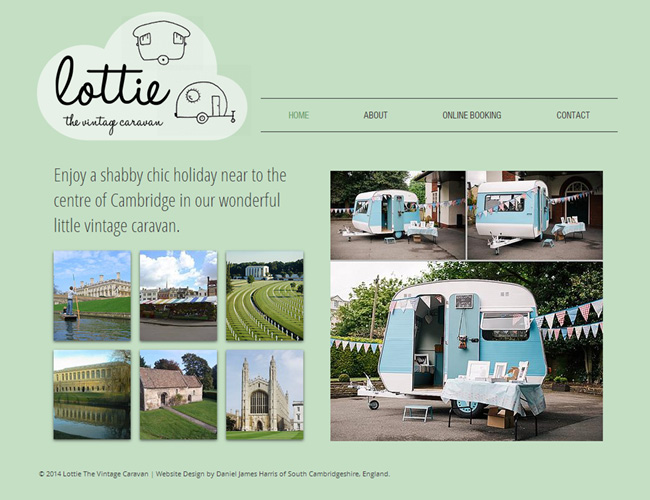 Lottie The Vintage Caravan