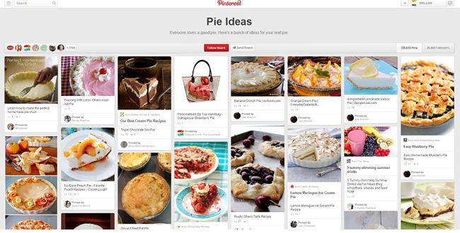 Pie Idea Pinterestボード
