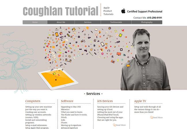 Apple製品チュートリアル「Coughlan Tutorial」