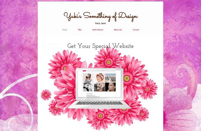 Webデザイナー「Yuki's Something of Design」