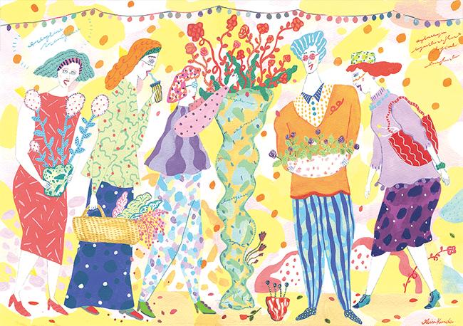 黒田さんのイラスト