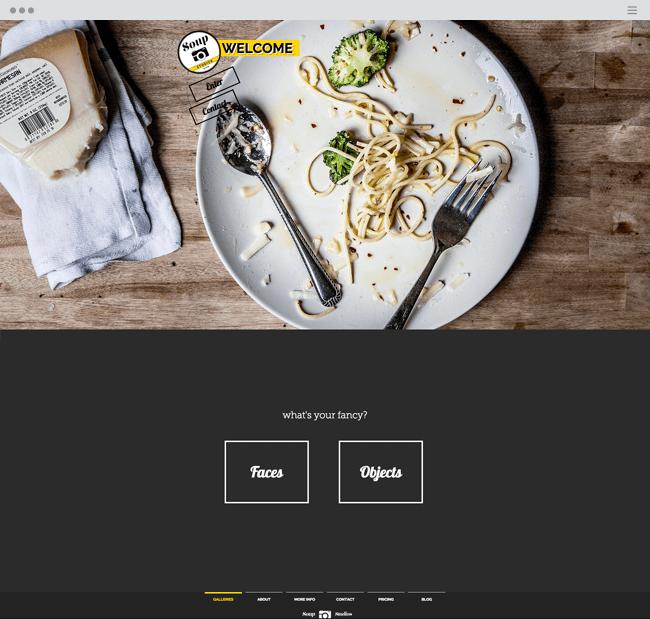 ポートフォリオで個性を出すポイント, 動線のあるホームページ