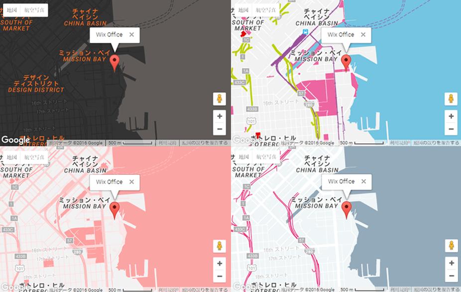 Webデザイン, Googleマップ