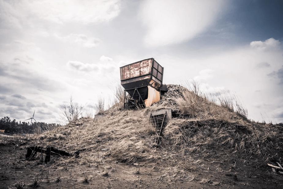 無何有郷, 廃墟の写真