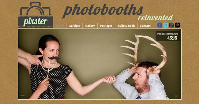 Wixホームページビルダーで作成されたサイト画像を上手く使ったホームページの例