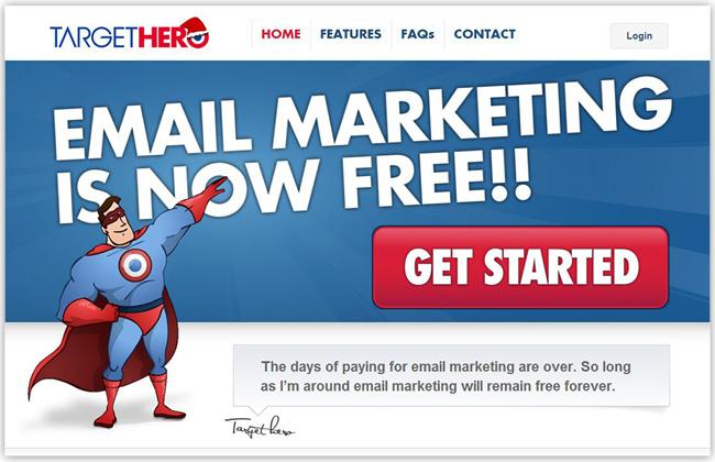 Eメールマーケティングが簡単にできるTargetHeroアプリをホームページに追加しよう