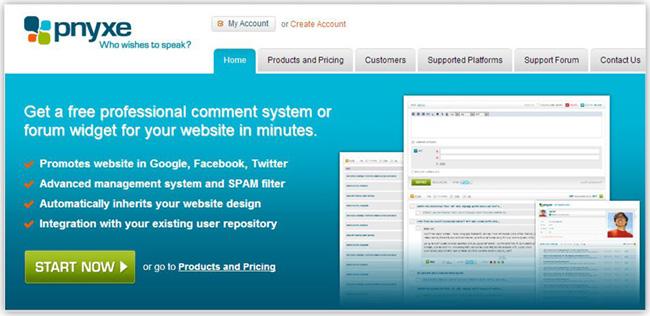 ソーシャルコメントができるPnyxe Commentsアプリをホームページに追加しよう
