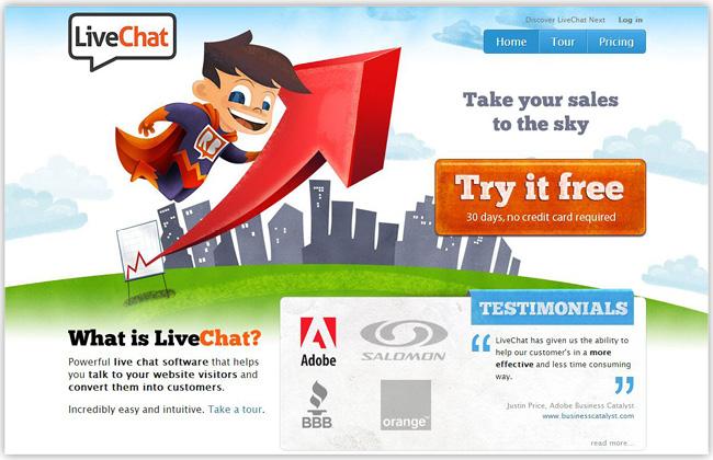 Live Chat アプリを追加しよう
