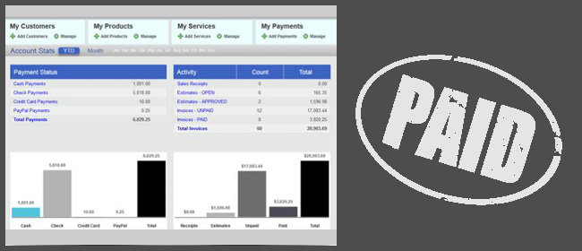 オンラインで請求書を発行するアプリ