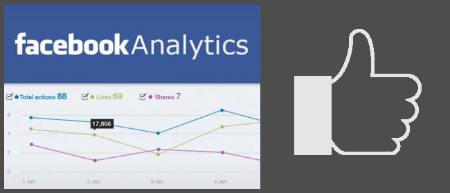 Facebookアナリティクスのアプリを追加