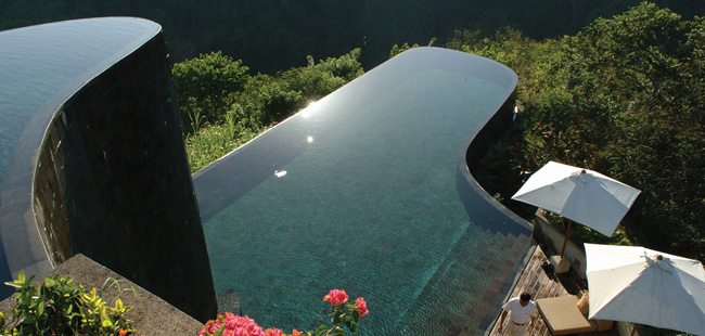 バリ島の絶景プール2