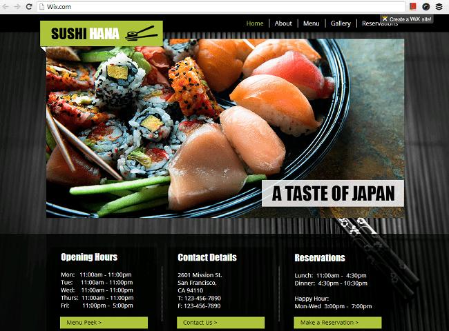 寿司 レストラン