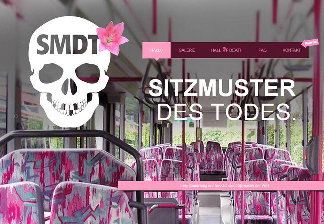 Sitzmuster Des TodesのWixサイト