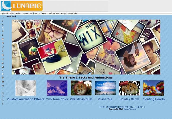 LunaPicアプリ