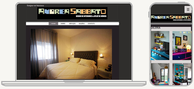 Andrea SabbatoのWixサイト