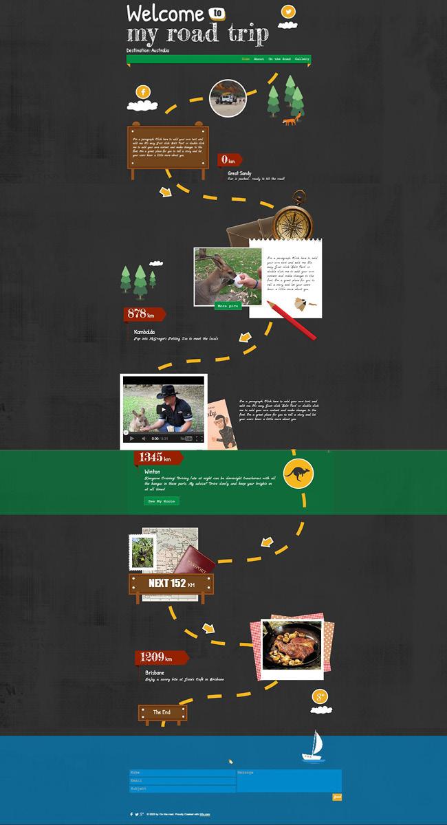 ウェブデザインのトレンド!縦に長いスクロールページの作成