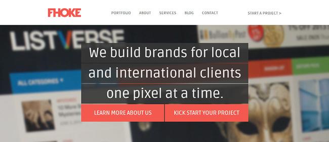 Fhokeのホームページ