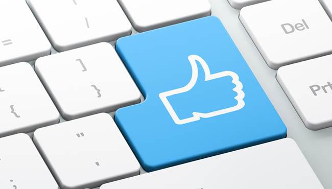 Facebookのいいねボタン