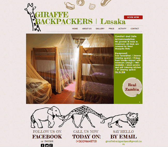 Giraffe Backpackers