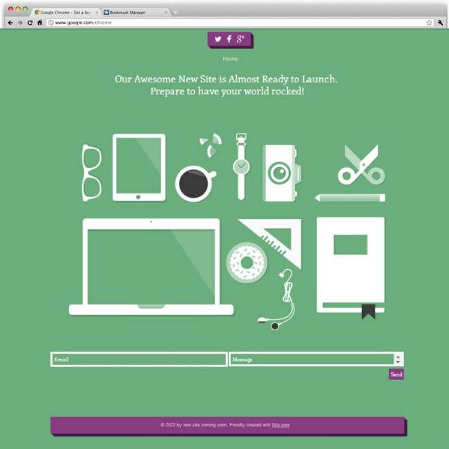 最新のWebデザインを取り入れてイメージアップ