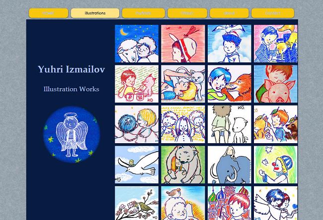 Yuhri IzmailovさんのWixサイト