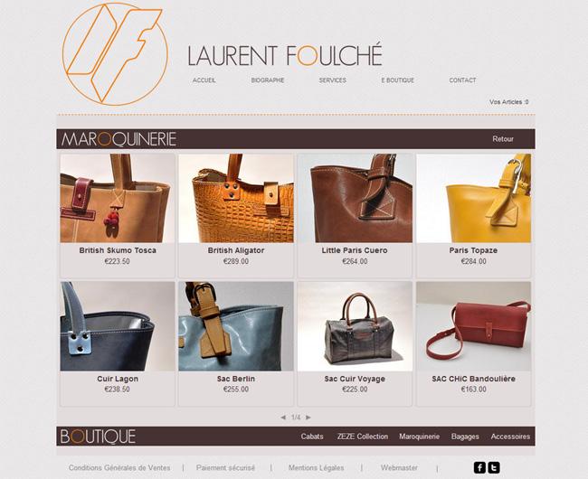 Laurent Foulcheのネットショップ