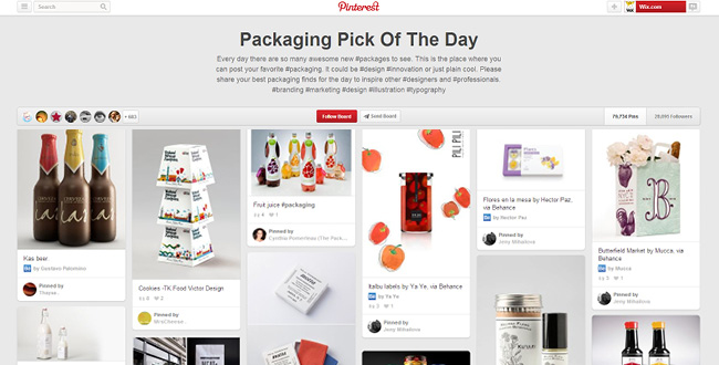 Packaging Pick Pinterestボード
