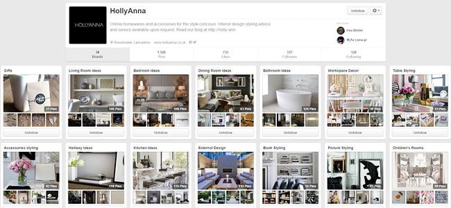 Holly Anna のPinterestページ