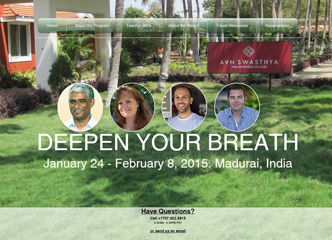 Deepen Your Breath >>