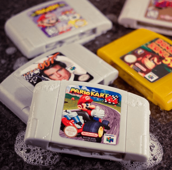 Nintendo 64ソフト型石鹸