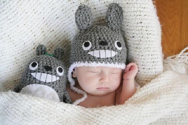 トトロの赤ちゃん帽子