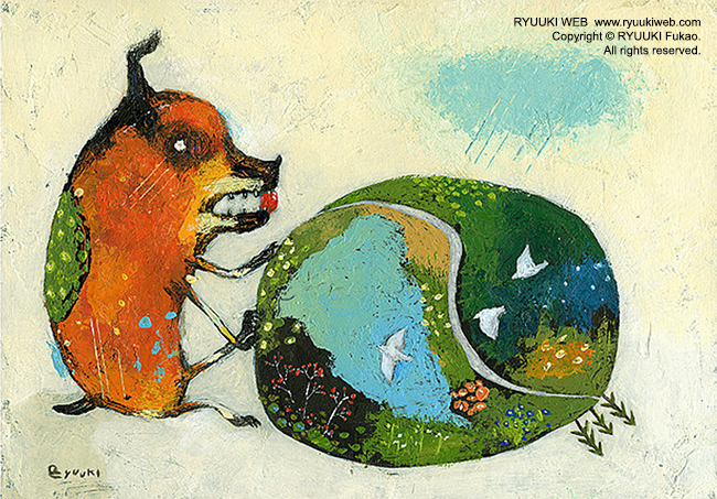 世界アートデー!深尾竜騎