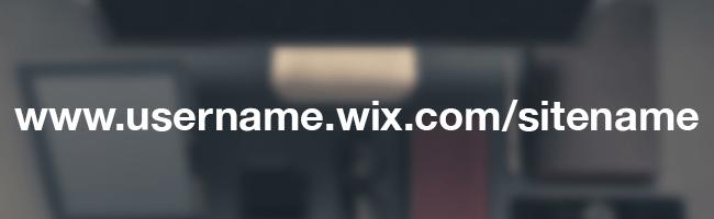 無料WixのURL